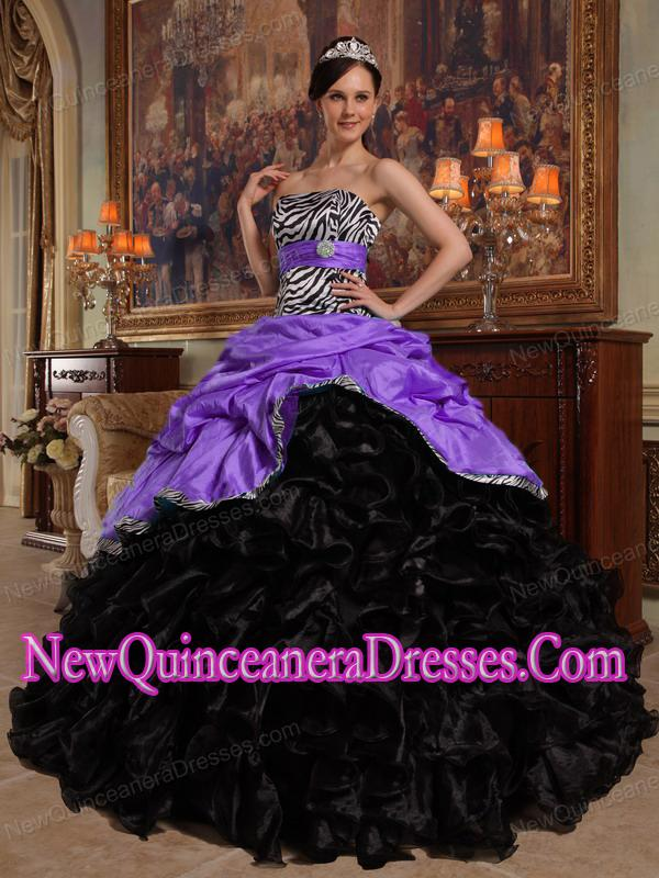 Black And Purple Quinceanera Dresses, Cheap Quinceanera Gowns in ...