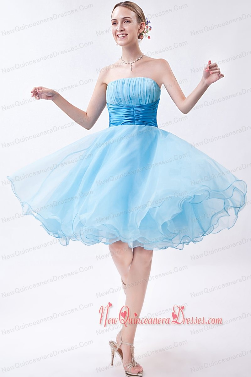 the gallery for gt baby blue dresses for damas