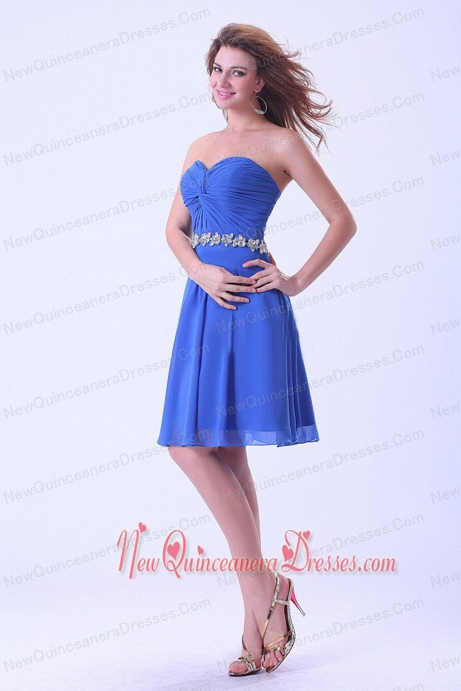 Royal Blue Dama Dresses