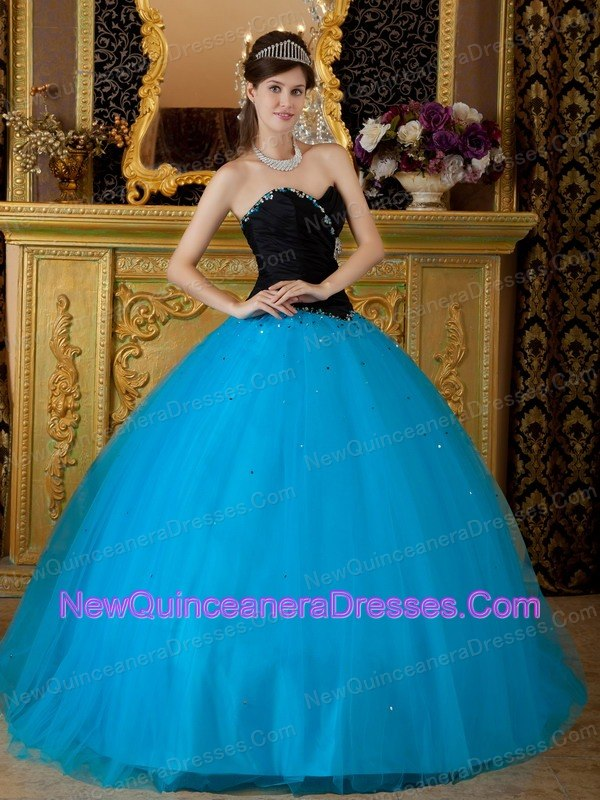 Exquisite Quinceanera Dress Sweetheart Beading Tulle Ball Gown