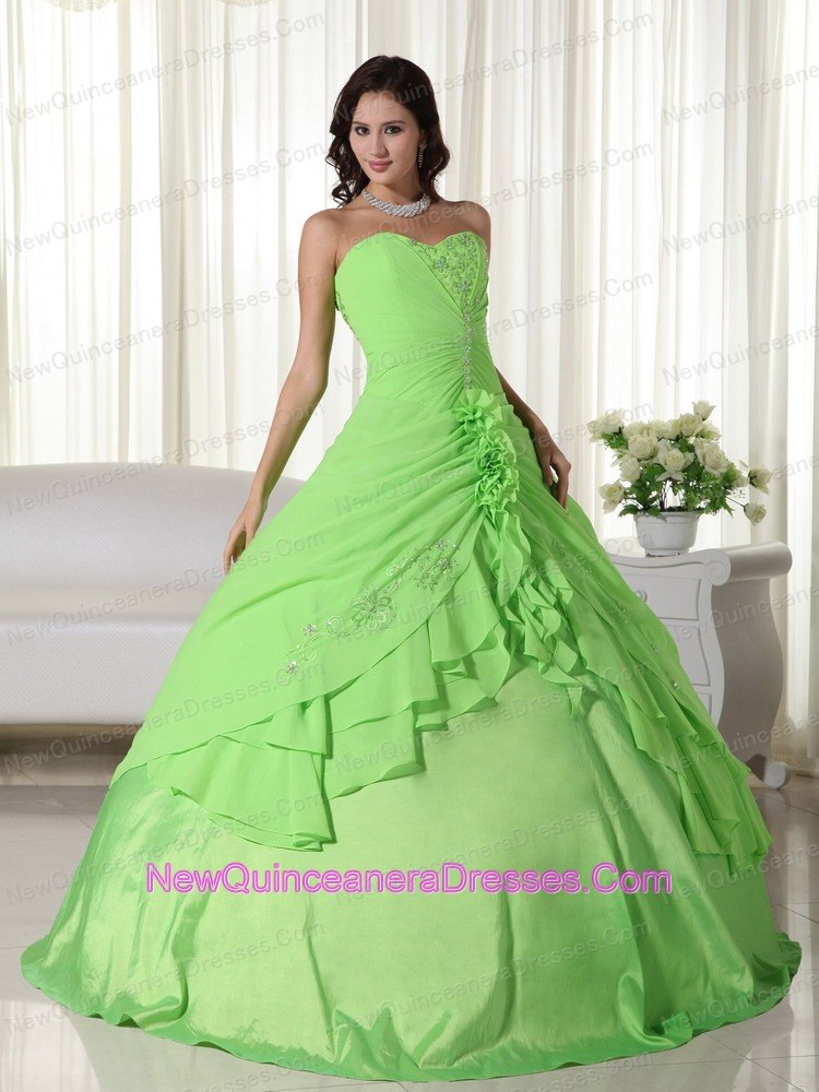 -green-ruch-sweetheart-chiffon-beading-quinceanera-dress-g357 htmlQuinceanera Dresses Turquoise And Lime Green