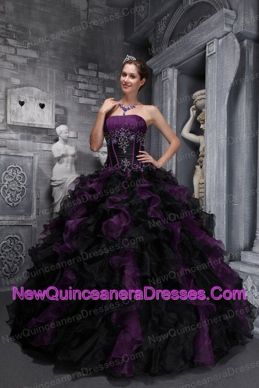 Organza Quinceanera Dresses, Cheap Organza Fabric Quince Ball Gowns