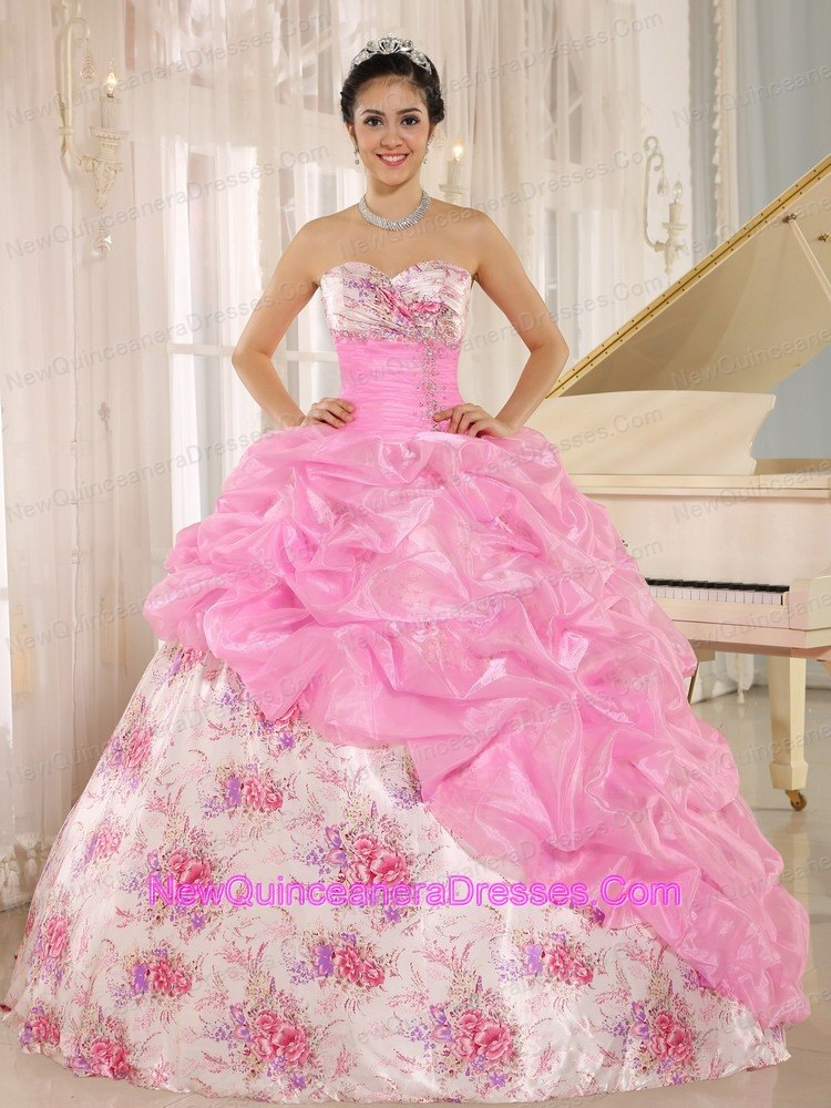 Rose Pink Quinceanera Dresses- Cheap Quinceanera Gowns in Rose Pink
