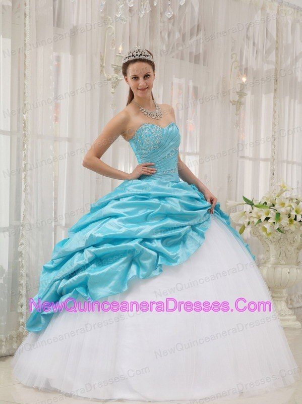 Taffeta Quinceanera Dresses, Cheap Taffeta Fabric Quince Ball Gowns