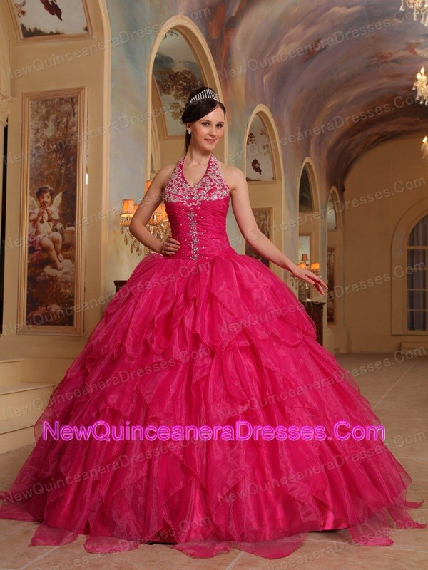 Hot Pink Quinceanera Dresses Tumblr images