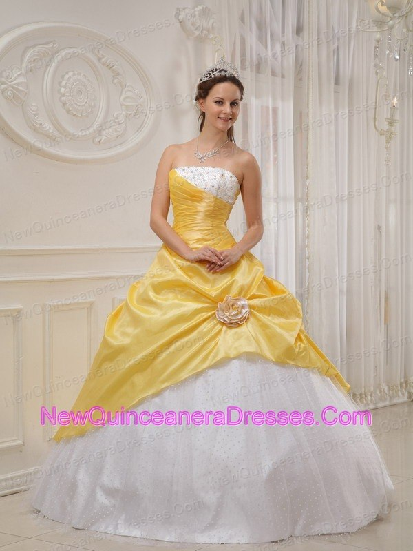 Yellow and white quinceanera dresses – Dress ideas