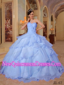 Beautiful Ball Gown Sweetheart Beading Quinceanera Dress in Lilac