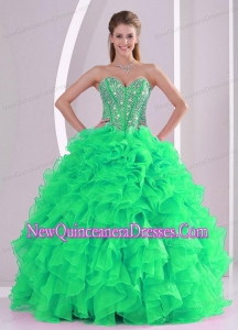 Sweetheart Fashionable Ball Gown Classical Quinceanera Gowns in Sweet 16