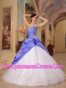 A Colorful A-Line Princess Sweetheart Beading Simple Quinceanera Dresses