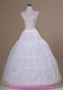 Fashionable Tulle and Organza Floor-length Wedding Petticoat