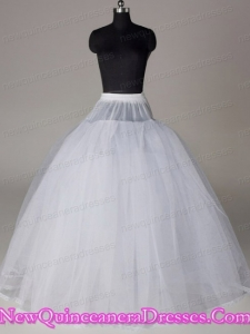 Hot Selling Organza Ball Gown Floor-length Wedding Petticoat