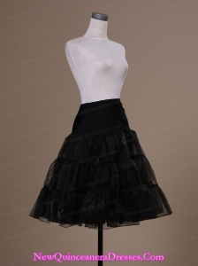 Hot Selling Organza Knee-length Wedding Petticoat