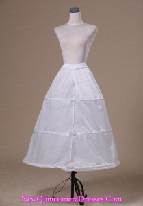 Modest Organza Floor-length Wedding Petticoat