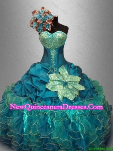 Classical Sweetheart Quinceanera Dresses with Sequins