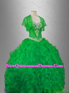 Classical Sweetheart Quinceanera Gowns with Beading