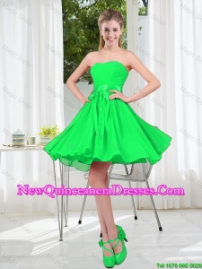 New Style A Line Sweetheart Dama Dress for 2016