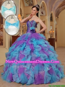 Perfect Ball Gown Sweetheart Quinceanera Dresses in Multi Color