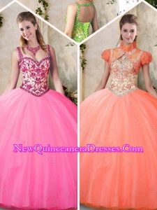 Top Seller Quinceanera Dresses with Straps for 2016