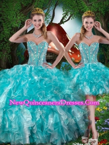 13f0b84c12 Hot Sale Sweetheart Detachable Quinceanera Dresses with Beading for Summer