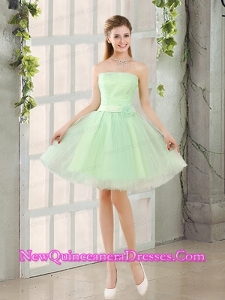The Most Popular Strapless A LineDama Dresses with Lace Up
