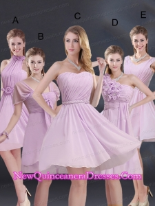 2015 Exquisite Dama Dresses with Ruching