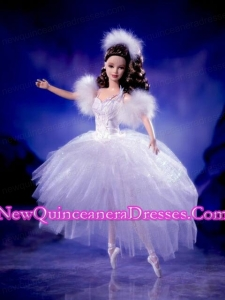 Tulle Beading Ball Gown Barbie Doll Dress
