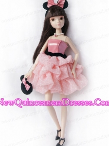 Pretty Princess Dress For Noble Barbie With Pick-ups