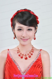 Beautiful Alloy With Crystal Womens Jewelry Sets
