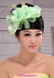 Lovely Taffeta and Tulle Beading Women s Fascinators For Party