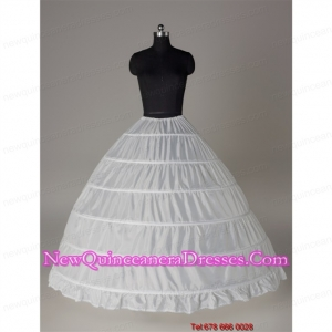 Top Seller Ball Gown Floor Length White Petticoat