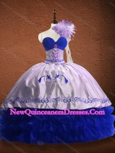 New Arrivals Ruffled Layers and Patterned Red Custom Made Quinceanera Dress in Organza and Taffeta