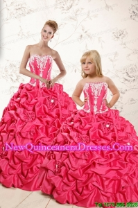 Classical Ball Gown Princesita Dresses with Appliques