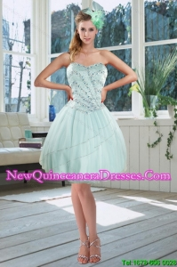 b7d3765546f  20.56  8.68  Beautiful Light Blue Sweetheart Short Dama Dresses with  Beading