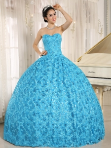 Embroidery and Sequins On Tulle Sweetheart Quinceanera Dress 2013 In El Alto City