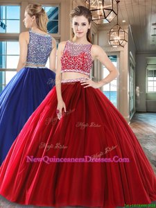 Delicate Floor Length Side Zipper Sweet 16 Dresses Wine Red and In for Military Ball and Sweet 16 and Quinceanera withBeading